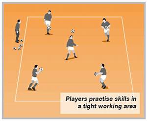 Improve ball handling skills with this handball game ...