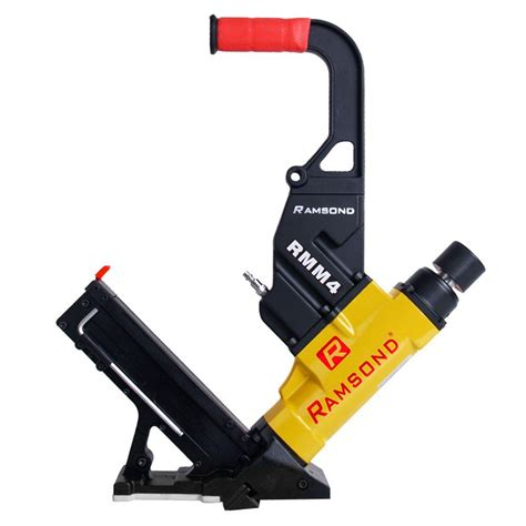 Hardwood Floor Nailer Home Depot by Ramsond 2 In 1 Air Hardwood Flooring Cleat Nailer And