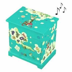 Boite A Bijoux Enfant : boite bijoux musicale enfant lapin bleu commode cette tr s jolie boite bijoux bleue ~ Teatrodelosmanantiales.com Idées de Décoration