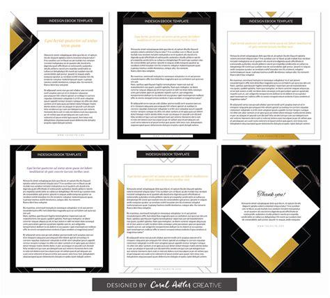 Ebook Template Soul Shine Indesign Ebook Template Coral Antler Shop