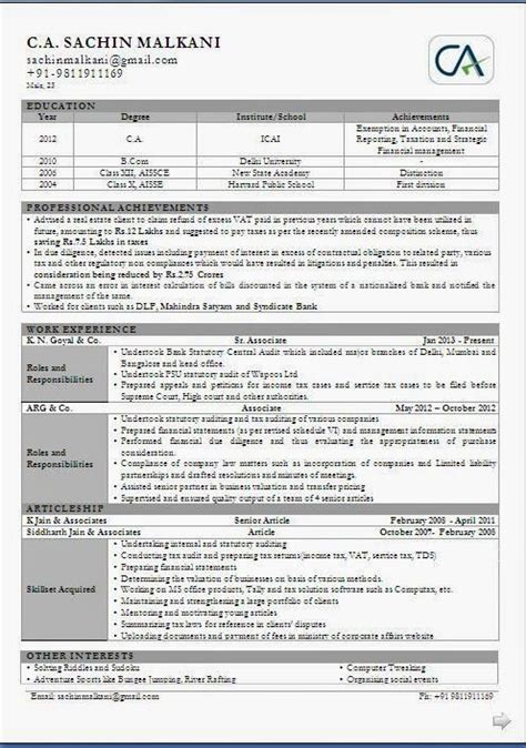 Experienced Ca Resumes by 17 Best Images About Resume On Cover Letter