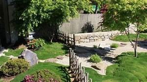 zen jardin et terrasse en toute serenite cote maison With amenagement jardin exterieur mediterraneen 16 design jardins paysagiste concepteur plage de piscine en