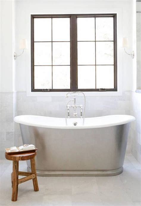 Waterworks Candide Freestanding Oval Cast Iron Tub Placed