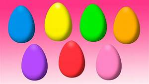 Animated Surprise Easter Eggs for Learning Colors Part 5 ...