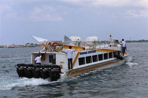Marina Boat Gili Trawangan by Marina Srikandi Fast Boat Dari Serangan Fast Boat Murah