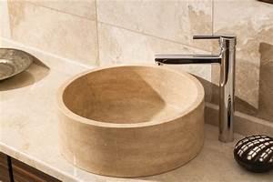 vasque a poser pierre 25 best ideas about bathtub With vasque salle de bain en pierre naturelle