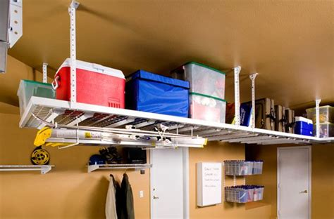 Hyloft Ceiling Storage by 20 Clever Basement Storage Ideas Hative