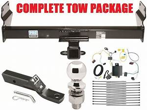 2014-17 Jeep Grand Cherokee Complete Trailer Hitch Tow Package W   Wiring 2 U0026quot  Ball