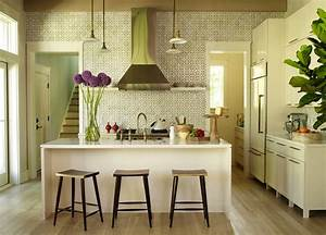 geometric kitchen backsplash transitional kitchen With what kind of paint to use on kitchen cabinets for mi casa es su casa wall art