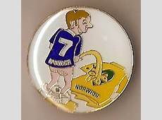 Ipswich Town Football Badge 007 anti Norwich pee on