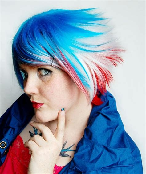 And Blue Hairstyles by 11 Patriotic Usa Hairstyles