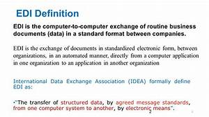 electronic data interchange edi ppt download With electronic documents definition