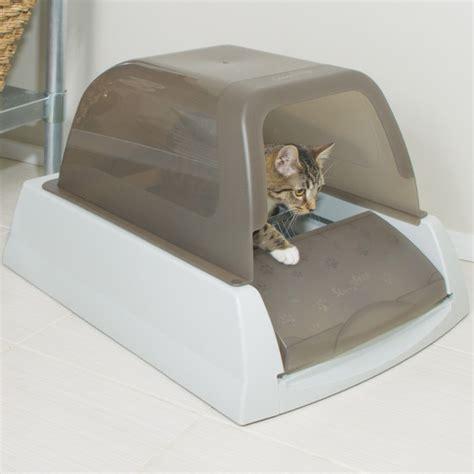 self cleaning litter box amazon scoopfree litter box replacement waste trap by petsafe
