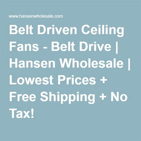 Belt Driven Ceiling Fans Cheap by 17 Best Ideas About Belt Driven Ceiling Fans On