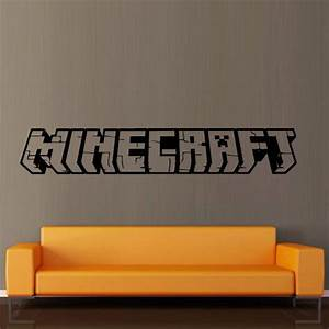 25 best ideas about minecraft video games on pinterest for Awesome minecraft vinyl wall decals