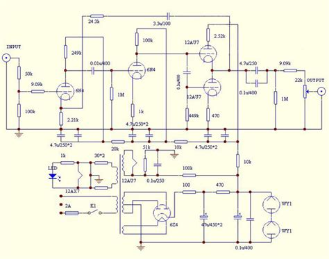 angel tube preamp pre amplifier shigeru wada circuit