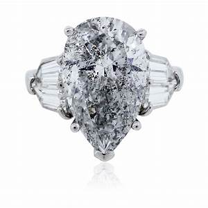 pear shaped diamond platinum engagement ring egl certified With diamond shaped wedding ring