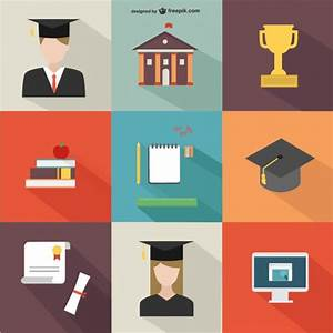 Academic icons pack Vector   Free Download