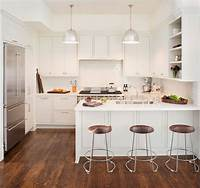 all white kitchen Kitchen Design Crush - Simplified Bee