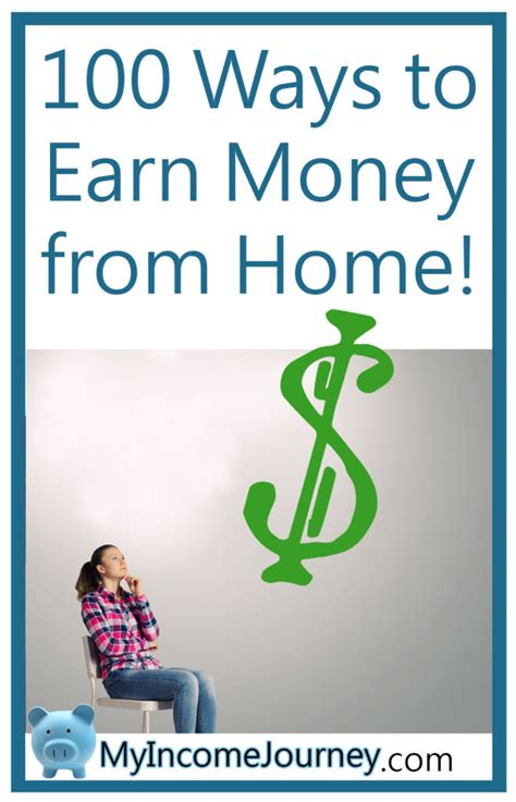 100 Ways To Earn Money From Home Pinterest  My Income Journey