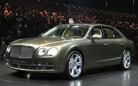 bentley flying spur debuts at geneva is most powerful