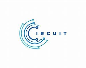 Circuit Blue Designed By Logofish