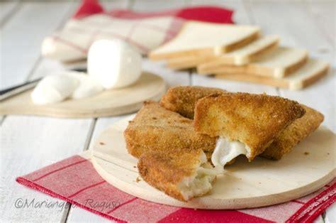 mozzarella in carrozza pangrattato mozzarella in carrozza antipasto o finger food facile e