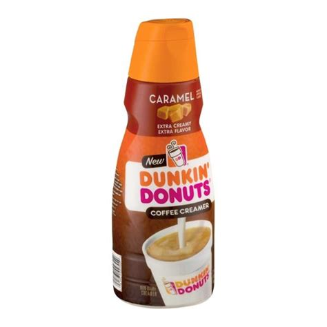 Shop for dunkin donut coffee creamer online at target. Dunkin' Donuts Caramel Coffee Creamer 32 fl. oz. Bottle | Hy-Vee Aisles Online Grocery Shopping
