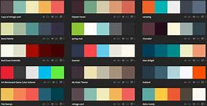 Picking color schemes for craft projects or for web ...