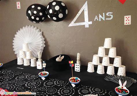 la cuisine d au pays des merveilles parce qu 39 avoir 4 ans c 39 est un peu magique anniversaire