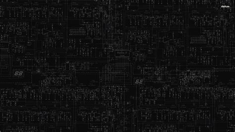 Digital Black Wallpaper Wallpaperwiki Desktop Hd Digital
