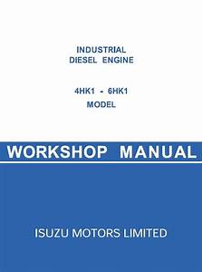 Jcb Isuzu 4hk1  6hk1 Diesel Engines Pdf Manual