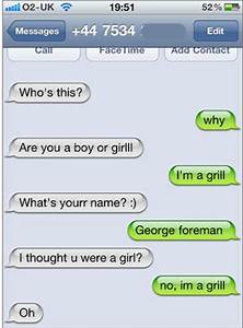 20 Awesome Text Messages - Odd Twist