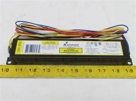 Advance 4 L T12 Ballast by Advance Electronic Ballast Rapid Start 2 T12 Ls 120v