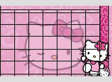 Creative Mind Hello Kitty Calendar Template