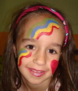 50, Easy, Face, Painting, Ideas, For, Kids, Images