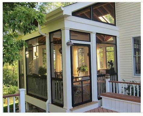 beautiful screened porches screened in porch sunroom exterior design ideas
