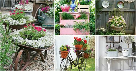Garden Decoration Vintage by Vintage Garden Decor That You Can Easily Make By Yourself