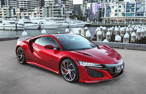 honda aims high     nsx delivered