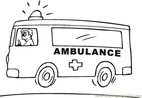 emergence anime pdf emergency vehicle coloring page free special transport