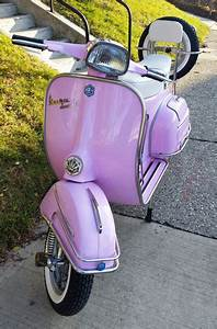 Vespa Sprint VLB from 1968 in pink | Your Vespa