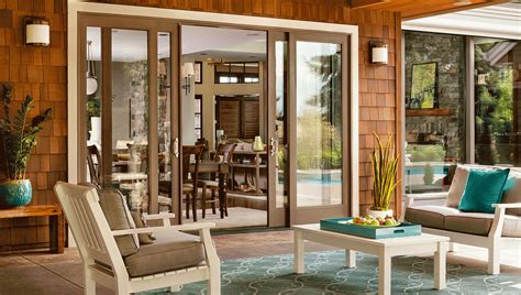 milgard door milgard essence series patio doors are the
