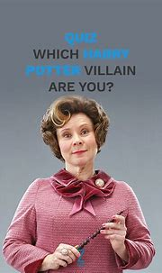 Which 'Harry Potter' Villain Are You? | Harry potter ...