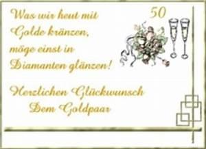 Glückwunschkarten Zur Goldenen Hochzeit : goldene hochzeit gl ckw nsche ~ Frokenaadalensverden.com Haus und Dekorationen