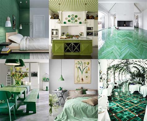 ways  create green color interior design
