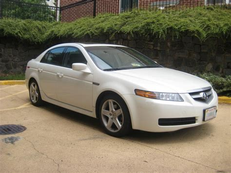 2005 pearl white acura tl with navigation warranty
