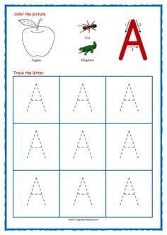 kids handwriting worksheets easy
