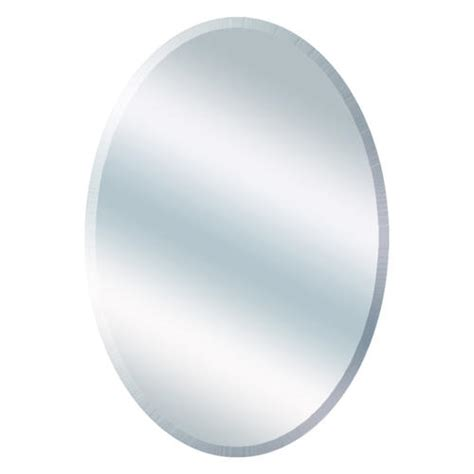 Menards Oval Medicine Cabinet by 21 Quot W X 31 Quot H Beveled Oval Mirror At Menards 174
