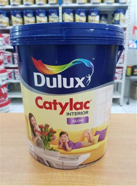 Jual Jual Cat Tembok Interior Dulux Catylac Putih Glow 5Kg