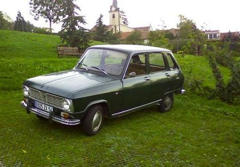renault green renault 6 coches pinterest